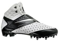 New NIKE CJ81 Elite 3/4 TD Mens Football Cleats White Black Calvin Johnson CJ 81