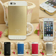 3500mAh Portable External Power Bank Backup Battery Charger Case For iPhone 5 5S