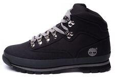New TIMBERLAND Canvas Euro Hiker Boot black