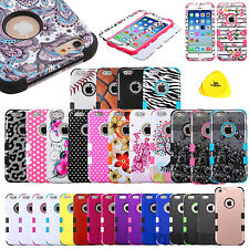Rugged Hard Hybrid Case Shockproof Impact Skin Cover For iPhone 6 Plus 5.5 4.7