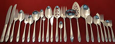 1946 Oneida QUEEN BESS II Community Tudor Silver Plate Silverware Pieces CHOICE