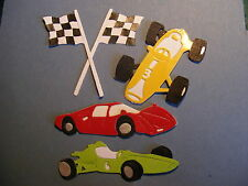 Racing Driving F1 Cars Car Flag Formula One Die Cuts