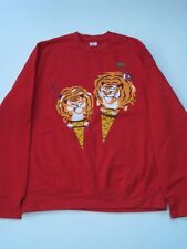 TIGER SCOPES RED ICE CREAM BBC BILLIONAIRE BOYS CLUB PHARRELL CREW Sweater NEW