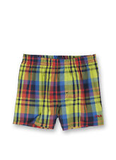 Sanetta Boys Webshort Boxer Shorts Woven Shorts Checked - Coloured Multi