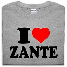 I LOVE ZANTE T SHIRT TOP HEART GIFT MEN GIRL WOMEN BOY PARTY DANCE DRINK HOLIDAY