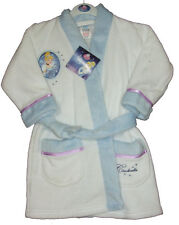 Disney Cinderella Soft Touch Dressing Gown Ages: 18-24M,2-3,3-4,4-5,5-6 Yrs NEW