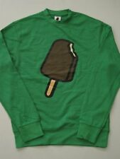BAR GREEN ICE CREAM BBC BILLIONAIRE BOYS CLUB PHARRELL CREW Sweater NEW S SMALL