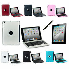 Clam Shell For Apple iPad Mini 1/2/3 Become Notebook Bluetooth Keyboard Case