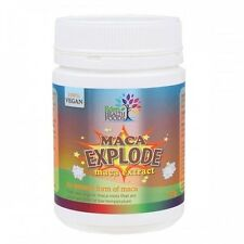 MACA ENERGY EXPLODE Certified Organic Juice Extract Powder Eden Heathfoods