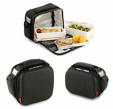 Valira Nomad Executive Maxi Mini Soft Lunch Bag Containers For Adults in Black