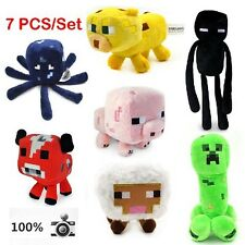 New Jazwares Minecraft Enderman Creeper pig Animal Plush Soft Toy Doll 7Styles