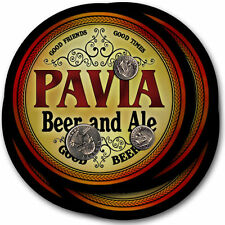 Pavia Beer and Ale Coasters - 4pak - Great Gift