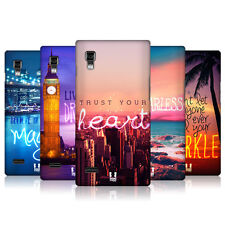 HEAD CASE WORDS TO LIVE BY SERIES 4 SNAP-ON BACK COVER FOR LG OPTIMUS L9 P768