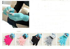 Fad Design Mens Ladies Warm knit Click Touch Screen SmartPhone Magic Gloves WBCA