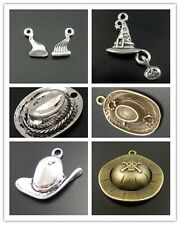 Antique Style Bronze Silver Alloy Multi-type Hat Shaped Charms Pendant Hot Sale