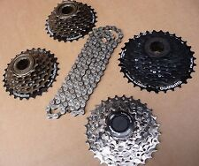 NEW Shimano HG40 Acera Chain & Freewheel or Cassette 6 7 8 Speed Bike Bicycle