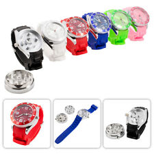 Rotating Wheel Wrist Watch Hidden Spice Tobacco Herbs Spiked Grinder Crusher