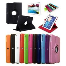 360 Rotating Samsung Galaxy Tab3 10.1 P5200 P5210 Leather Case Cover Film Stylus