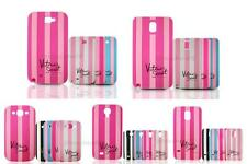 Victoria/'s Secret Silicone Stripe Case Covers for Samsung s3 s4 s5 N7100 N9000