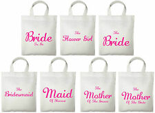 Wedding Favour Tote Bags - Printed Gift Present Keepsake Hen Party Novelty