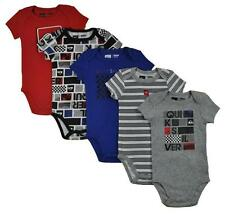 Quiksilver Infant Boys Gray & Multi Color 5pk Bodysuit's Size 0/3M 3/6M 6/9M $42