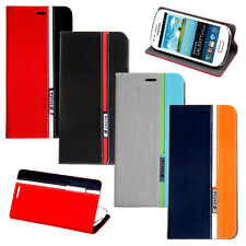 Deluxe Stand Leather Flip Case Cover For Samsung Galaxy S3 III Mini i8190