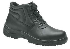 Grafters Mens Steel Toe Cap Black Safety Hiking Work Boots