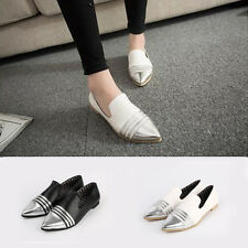 Fashion Pointed Toes Imitation Leather Single Shoe Casual Women's Shoes