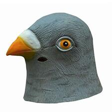 Creepy Halloween Prop Bird Head Latex Mask Hats Costume Party Theater Novelty
