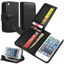 Luxury Flip PU Leather Card Photo Slot Cover Case Wallet For Mobile Cell Phone
