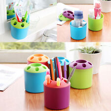 Pen Makeup Stuff Tool Toothpaste Toothbrush Holder Cup Organizer Container Home