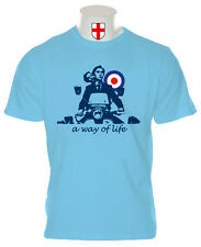 JIMMY COOPER T SHIRT QUADROPHENIA MODS THE WHO SCOOTERS LAMBRETTA VESPA