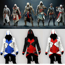 Classic Color Assassins Creed 3 Conner Kenway Cosplay Jacket Cloak Coat Costume
