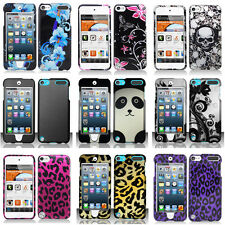 For Apple iPod Touch 5 5G 5th Gen Colorful Design Hard Case Cover Accessory