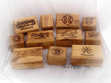 Olive Wood Jewelry Rosary Box Handcrafted Holyland VARIOUS DESIGNS & SIZES