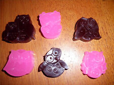 SCENTED WAX TARTS 2 OUNCE BAG OWL SHAPE SO CUTE OVER 300 SCENTS