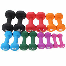 Fitness-Mad Neoprene Dumbbells Aerobic Weight Fitness Training (Pair)