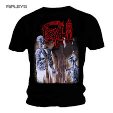 Official T Shirt DEATH Black Death Metal HUMAN Album Cover All Sizes