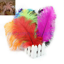 5/10/20/50pcs Natural Quality Ostrich Feathers 12-14inch/30-35cm Color Selection