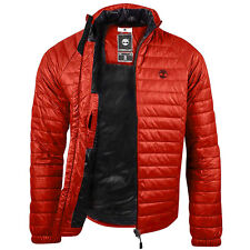 Timberland Men's Earthkeepers Lightweight Quilted Jacket - Winter - Red