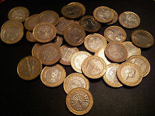 SELECTIONS  OF RARE GB £ 2 TWO POUND -BI-METAL COINS