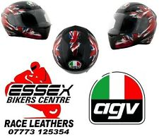 AGV K3 Black UK Flag Motorcycle Helmets Brand New  - Essexbikerscentre