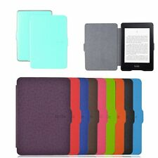 Folio Slim PU Leather Case Cover Skin for Amazon Kindle Paperwhite The Newest