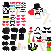 1Set Photo Prop Funny Creative DIY Ornaments For Wedding Christmas Party
