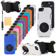 For Apple iPhone 6 Plus Defender Case w/Build in Screen Protector with Belt Clip