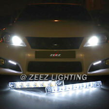 Euro 6 LED Daytime Running Light DRL Daylight Kit Fog Lamp Day Time Lights 6000K