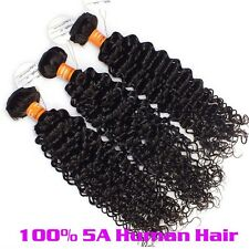 5A Remy Human Hair Unprocessed Mongolian Virgin Hair Extensions 100g Kinky Curly