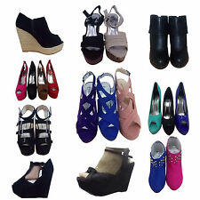 WOMENS LADIES SHOES BOOTS&SANDAL SELECTION AT FATIONANGELOUTLET,UK SIZE 3 - 8