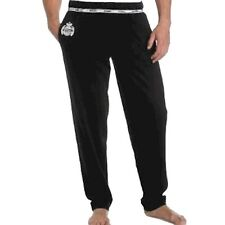 Diesel Men's Long Sampy Black Cotton Sleepwear Lounge Pant Sz. L