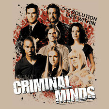 Crminal Minds T-shirt cool tv show tee Cold Case First 48 Law Order cbs 979